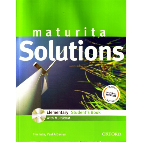 Maturita Solutions Elementary Student's Book + MultiROM Oxford University Press 9780194551533