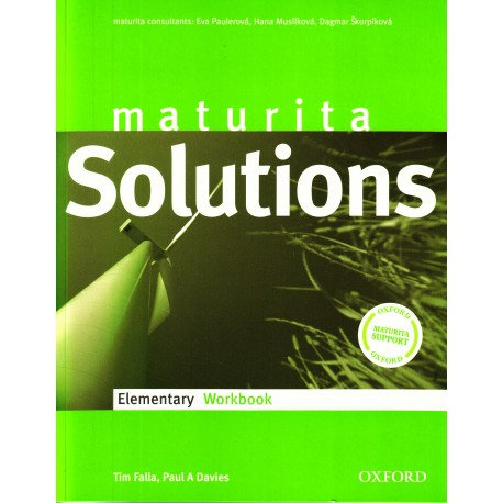 Maturita Solutions Elementary Workbook Czech Edition Oxford University Press 9780194551564