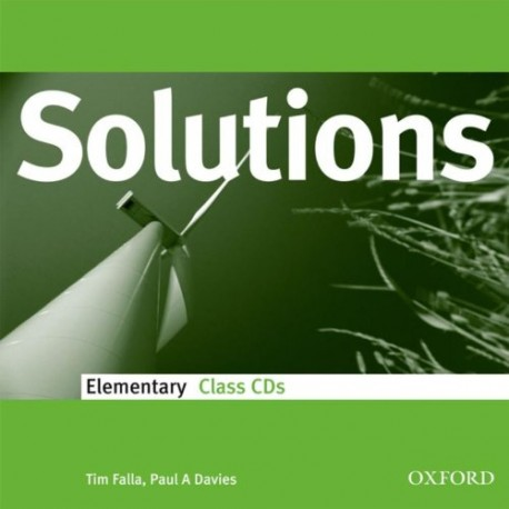 Maturita Solutions Elementary Class CDs Oxford University Press 9780194551632