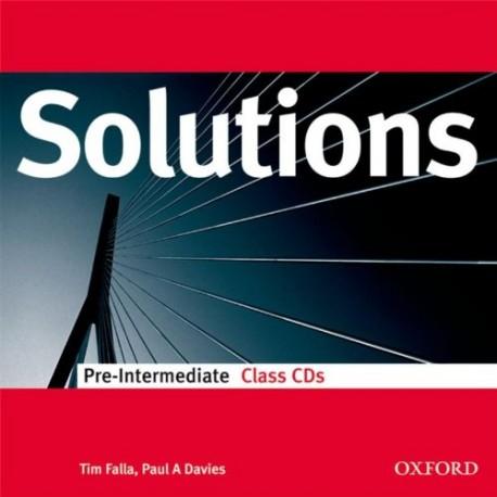 Maturita Solutions Pre-Intermediate Class CDs Oxford University Press 9780194551786
