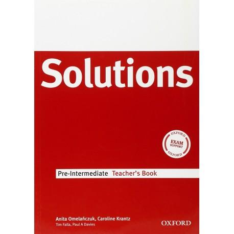 Maturita Solutions Pre-Intermediate Teacher's Book Oxford University Press 9780194551779