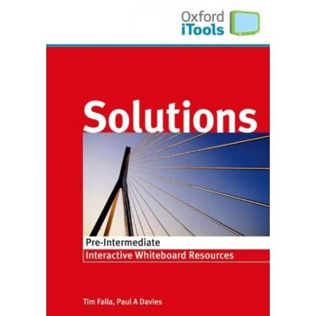 Maturita Solutions Pre-Intermediate iTools CD-ROM Oxford University Press 9780194552325