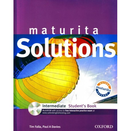 Maturita Solutions Intermediate Student's Book + MultiROM Oxford University Press 9780194551830