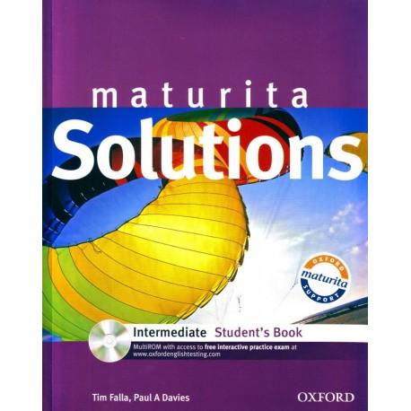 Maturita Solutions Intermediate Student's Book + MultiROM Oxford University Press 9780194551830