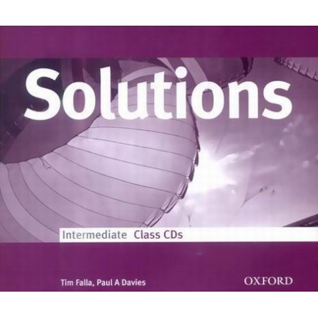 Maturita Solutions Intermediate Class CDs Oxford University Press 9780194551939