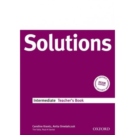 Maturita Solutions Intermediate Teacher's Book Oxford University Press 9780194551922