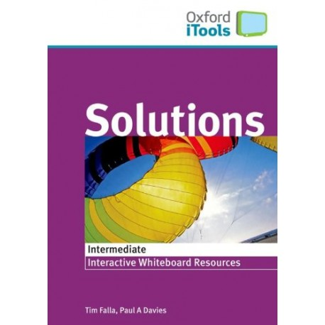 Maturita Solutions Intermediate iTools CD-ROM Oxford University Press 9780194552332