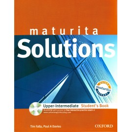 Maturita Solutions Upper-Intermediate Student's Book + MultiROM Czech Edition