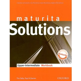Maturita Solutions Upper-Intermediate Workbook Czech Edition