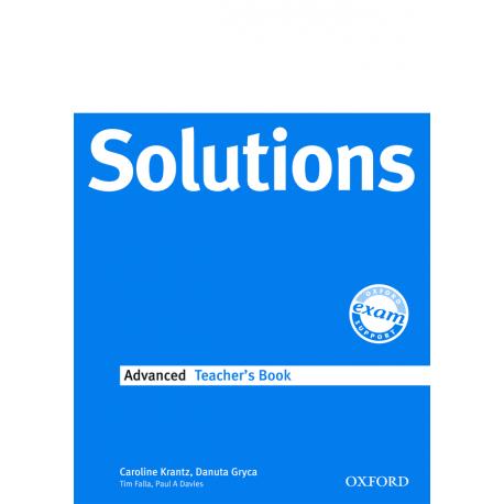 Maturita Solutions Advanced Teacher's Book Oxford University Press 9780194552226
