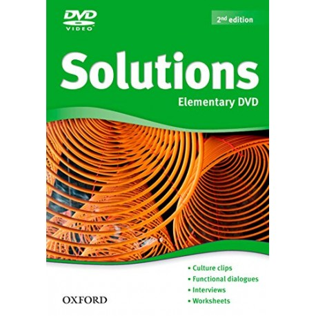 Maturita Solutions Second Edition Elementary DVD Oxford University Press 9780194552738