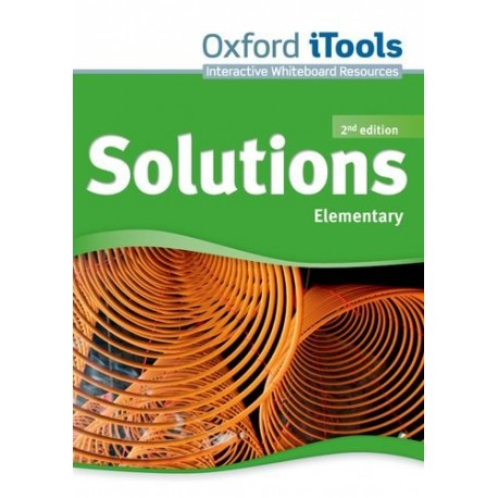 Maturita Solutions Second Edition Elementary iTools DVD-ROM Oxford University Press 9780194553490