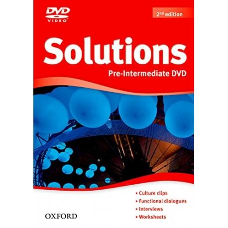 Maturita Solutions Second Edition Pre-Intermediate DVD Oxford University Press 9780194552745