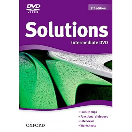 Maturita Solutions Second Edition Intermediate DVD Oxford University Press 9780194552752