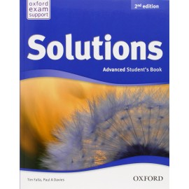Solutions Second Edition Advanced Student's Book