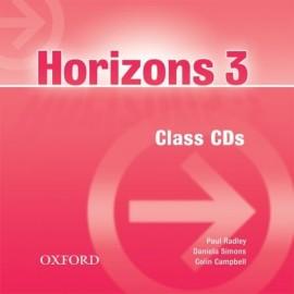 Horizons 3 Class Audio CDs (2)
