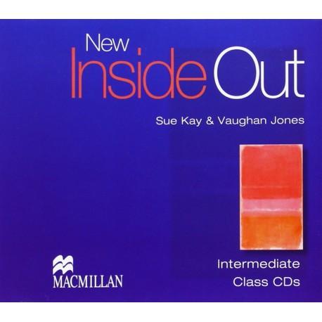 New Inside Out Intermediate Class CDs Macmillan 9781405099707