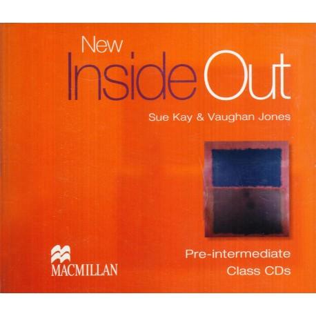 New Inside Out Pre-Intermediate Class CDs Macmillan 9781405099578