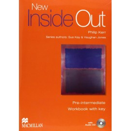 New Inside Out Pre-Intermediate Workbook with key + CD