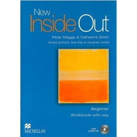 New Inside Out Beginner Workbook with Key + CD