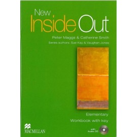 New Inside Out Elementary Workbook with Key + CD