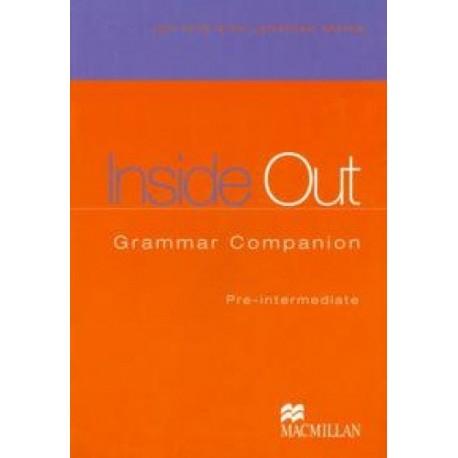 Inside Out Pre-Intermediate Grammar Companion Macmillan 9781405082044