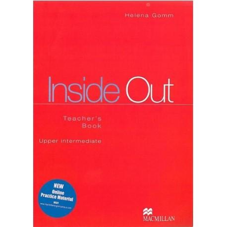 Out teachers book inside upper intermediate