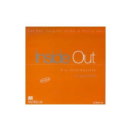 Inside Out Pre-Intermediate Class Audio CDs Macmillan 9780333975916