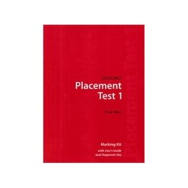 Oxford Placement Tests 1 Marking Kit with User Guide and Diagnostic Key (Revised E.)