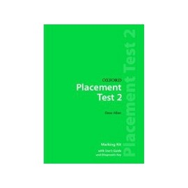 Oxford Placement Tests 2 Marking Kit with User Guide and Diagnostic Key (Revised E.)