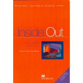Inside Out Pre-Intermediate Workbook with Key + Audio CD
