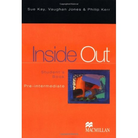 Inside Out Pre-Intermediate Student's Book Macmillan 9780333923856