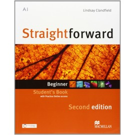 Straightforward Beginner Second Ed. Student's Book + Online Webcode
