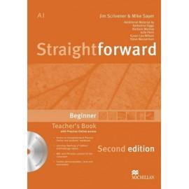 Straightforward Beginner Second Ed. Teacher's Book Pack