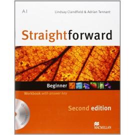 Straightforward Beginner Second Ed. Workbook with Key + CD