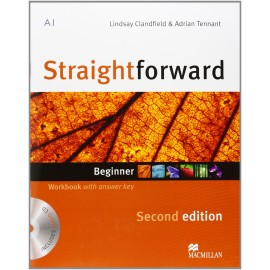 Straightforward Beginner Second Ed. Workbook with Key + CD