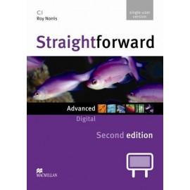 Straightforward Advanced Second Ed. Interactive Classroom DVD-ROM - Single User