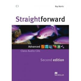 Straightforward Advanced Second Ed. Class Audio CDs