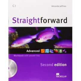 Straightforward Advanced Second Ed. Workbook with Key + CD