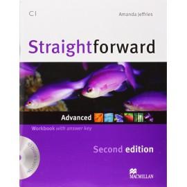 Straightforward Advanced Second Ed. Workbook with Key + CD