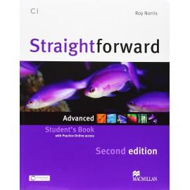 Straightforward Advanced Second Ed. Student's Book + Online Webcode