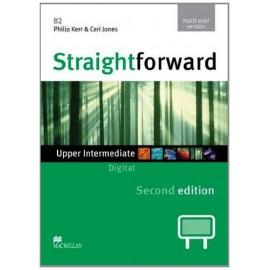 Straightforward Upper-Intermediate Second Ed. Interactive Classroom DVD-ROM - Multiple User