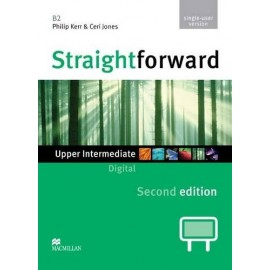 Straightforward Upper-Intermediate Second Ed. Interactive Classroom DVD-ROM - Single User