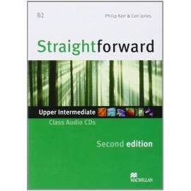 Straightforward Upper-Intermediate Second Ed. Class Audio CDs