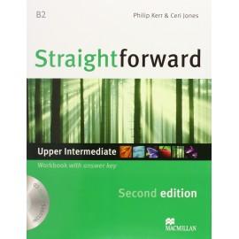 Straightforward Upper-Intermediate Second Ed. Workbook with Key + CD
