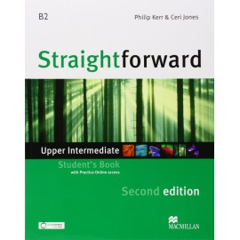 Straightforward Upper-Intermediate Second Ed. Student's Book + Online Webcode