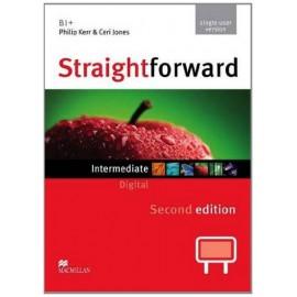 Straightforward Intermediate Second Ed. Interactive Classroom DVD-ROM - Single User