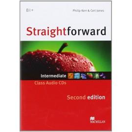 Straightforward Intermediate Second Ed. Class Audio CDs