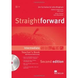 Straightforward Intermediate Second Ed. Teacher's Book Pack