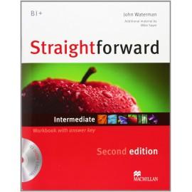 Straightforward Intermediate Second Ed. Workbook with Key + CD